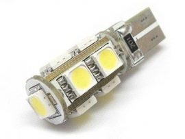 Led auto T10 Canbus cu 9 SMD