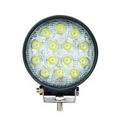 Proiector LED Auto Offroad 42W/12V-24V, 3080 Lumeni, Rotund,  Flood Beam 60 Grade
