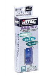BEC AUTO MTEC T20 (7443/W21/5W) CU DUBLA INTENSITATE - XENON EFFECT