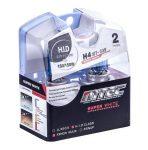 SET 2 BECURI AUTO H4 24V 75/70W MTEC SUPER WHITE - XENON EFFECT